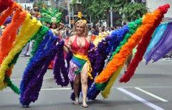 NYC: 2010 de Vrolijke Parade van de Trots Stock Foto's