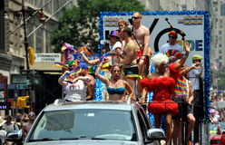 NYC: 2010 Gay Pride Parade Stock Photos