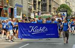 NYC: 2010 Gay Pride Parade Stock Photography