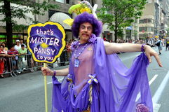 NYC: 2010 Gay Pride Parade Stock Photo