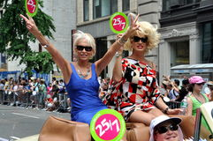 NYC:  2010 Gay Pride Parade Stock Images