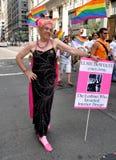 NYC: 2012 de Vrolijke Parade van de Trots Stock Fotografie