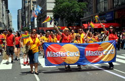 NYC; 2012 Gay Pride Parade Royalty Free Stock Photography