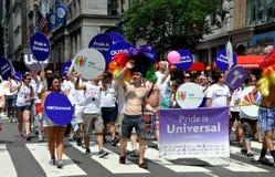 NYC: 2012 Gay Pride Parade Royalty Free Stock Photo