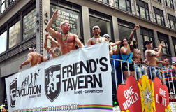 NYC: 2012 Gay Pride Parade Royalty Free Stock Photo