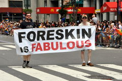 NYC: 2012 Gay Pride Parade Royalty Free Stock Images