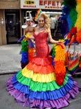 NYC: 2012 Homosexuell-Stolz-Parade Stockfotos