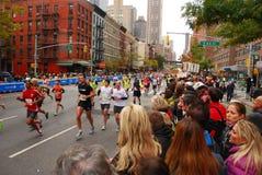NYC马拉松2013年 库存照片