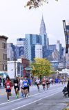 2013个NYC马拉松 免版税库存照片