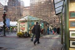 布耐恩特公园NYC圣诞节 库存照片