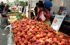 NYC: Abingdon Square Farmer's Market Royalty Free Stock Photo