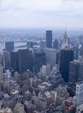 NYC from above Stock Photography