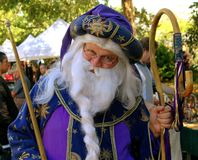 NYC: Actor at Renaissance Festival Stock Photo