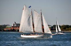 NYC: Adirondack Sailing Ship Stock Images