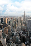 NYC Aerial View Royalty Free Stock Photos