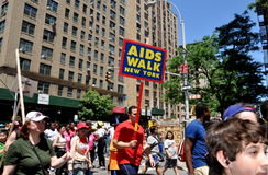NYC: AIDS-WEG 2012 Stockfotografie