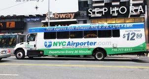 NYC Airporter Image libre de droits