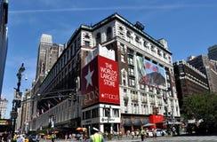 NYC: Almacén grande de Macy Imágenes de archivo libres de regalías