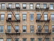 NYC Apartment Building Stock Photos