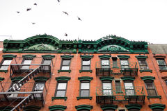 NYC Apartment Building Stock Images