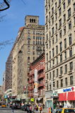 NYC: Apartment Buildings on Upper Broadway Royalty Free Stock Photo