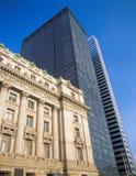 NYC architektura stara i nowa - Zdjęcia Stock