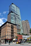 NYC: Ariel Luxury Apartment Tower stock images