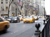 NYC-Autos Lizenzfreies Stockbild