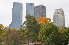 NYC in the Autumn Royalty Free Stock Photos