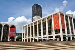 NYC: Avery Fischer Hall at Lincoln Center Royalty Free Stock Photos