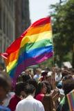 NYC-bög Pride March Arkivfoto