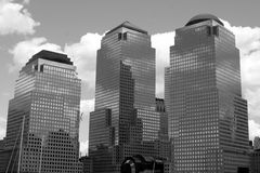 NYC in B&W Lizenzfreie Stockbilder