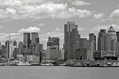 NYC In B&W Stock Photo