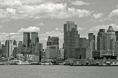 NYC In B&W Stock Photo