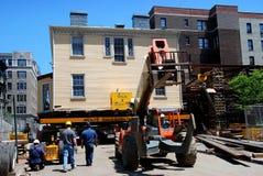 NYC: Bewegender Hamilton-Gutshof lizenzfreie stockfotos