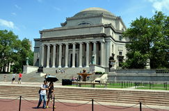 NYC: Biblioteca da Universidade de Columbia fotos de stock royalty free