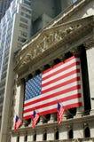 NYC: A Bolsa de Nova Iorque imagem de stock royalty free