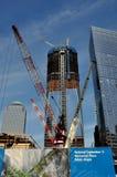 NYC: Bouw bij Grond Nul Royalty-vrije Stock Fotografie