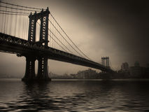 NYC Bridge Royalty Free Stock Images