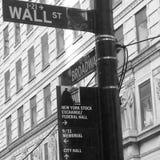 NYC. Broadway newyork wallstreet Royalty Free Stock Photo