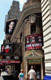 NYC: Broadways Broadhurst-Theater lizenzfreies stockfoto