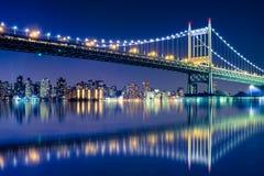 NYC-bronatt Royaltyfri Bild