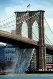 NYC: The Brooklyn Bridge Royalty Free Stock Photo