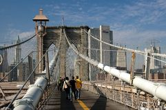 NYC: The Brooklyn Bridge Stock Photography