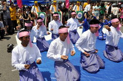NYC: Burmese Water Festival Royalty Free Stock Image