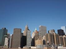 NYC-byggnad Arkivfoton