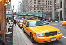 NYC Cabs Royalty Free Stock Photos