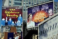 NYC: Carteleras del Times Square Fotos de archivo libres de regalías