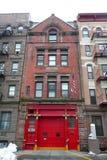 NYC : caserne de pompiers historique Image stock