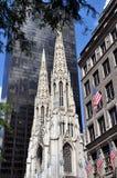 NYC: Cattedrale della st Patrick Fotografie Stock